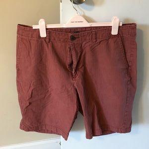 💜 Old Navy Men's Red Shorts sz 40